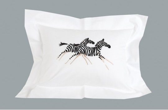 """Zèbres"" pillow case"