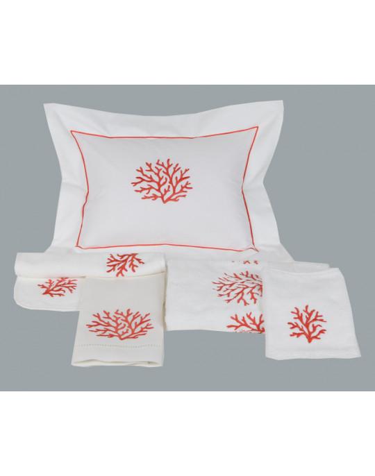 """""""Coraux"""" pillow case"""