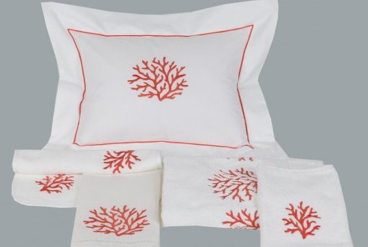 """Coraux"" pillow case"