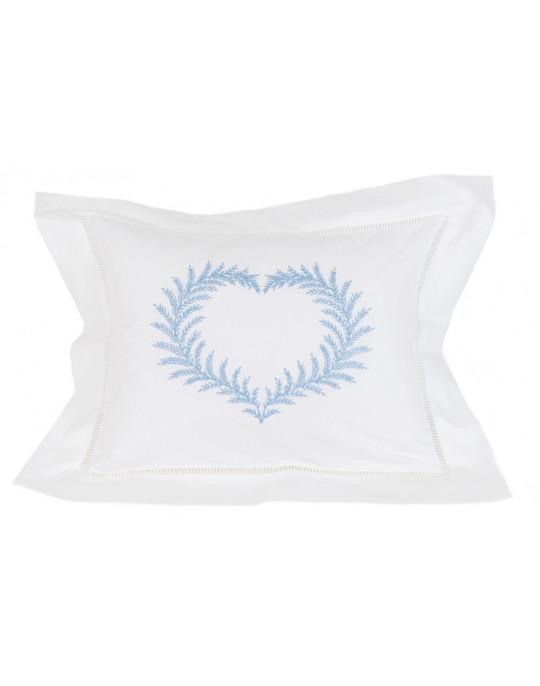 """""""Coeur de Fougère"""" pillow case"""
