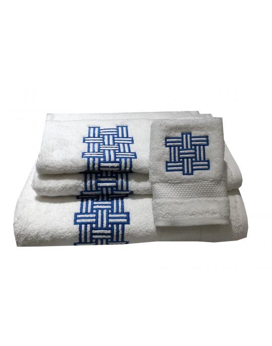 """""""Dédale"""" bath towels"""
