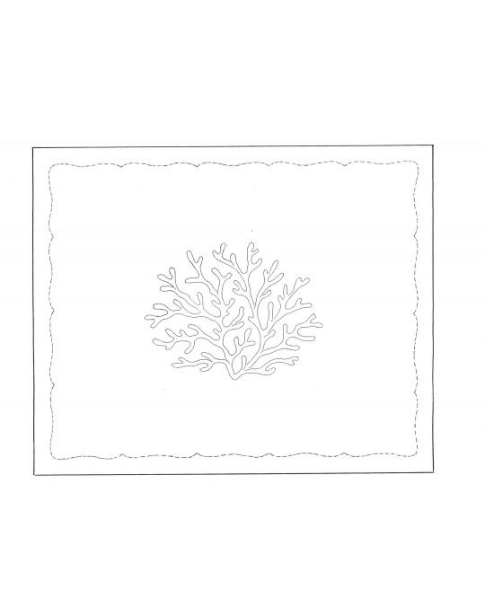 """Grand Coraux"" placemat pattern"