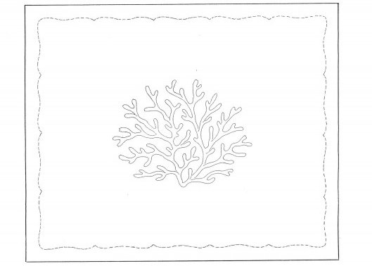 """Grand Coraux"" placemat pattern"