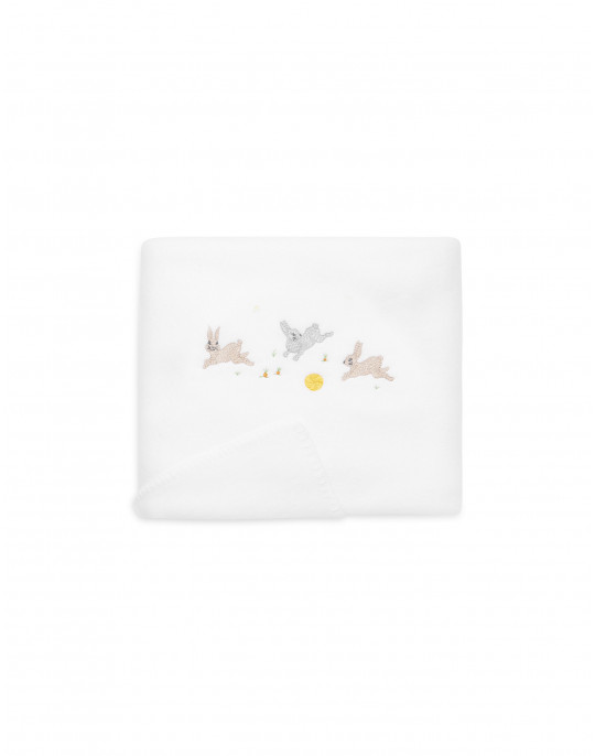 Rabbits Fleece blanket