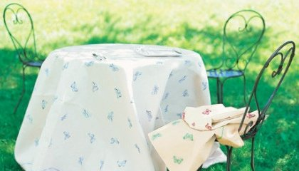 PAPILLONS (butterflies) Tablecloth