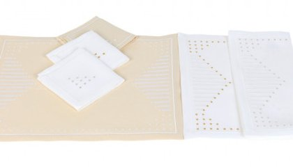 POINT SUR LE I placemats