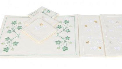 JARDIN BOTANIQUE (ivy leaves) placemats