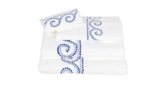 CARTHAGE embroidered bath towels