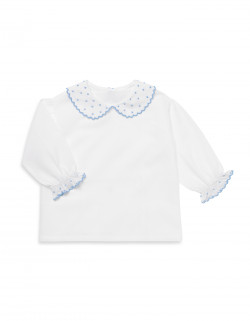 PIERROT sky blue shirt