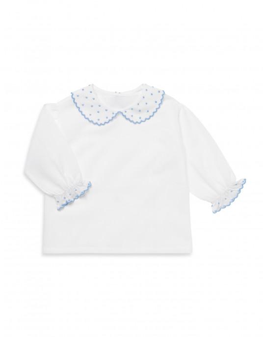 PIERROT sky blue shirt