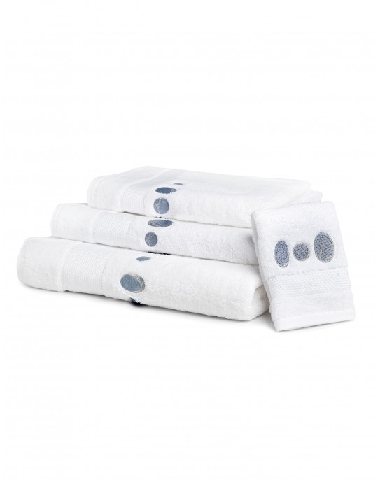 """Galets"" bath towels"