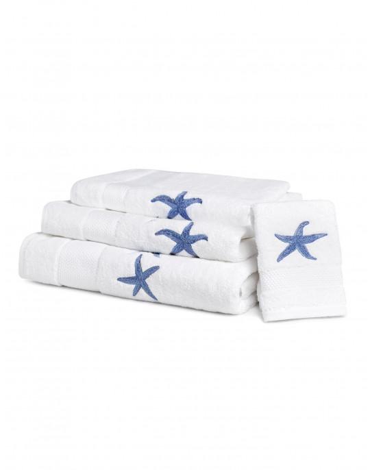 """""""Starfish"""" bath towels"""