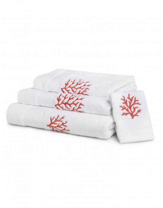 """Coraux"" bath towels"
