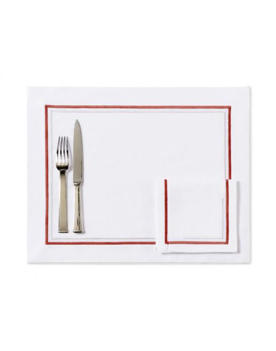 """Matignon"" placemat and napkin"