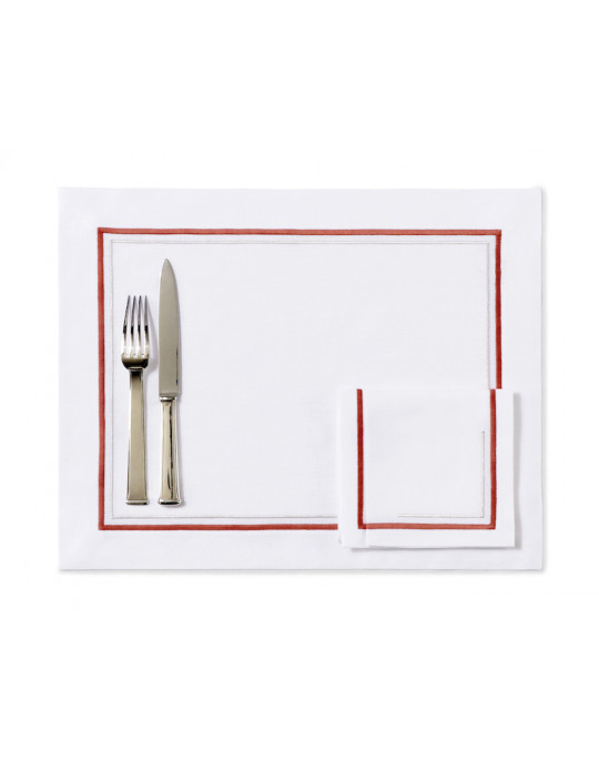 """Matignon"" placemat and napkin"