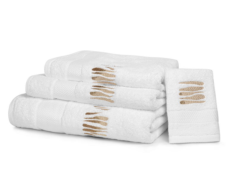 """""""Cote Ouest"""" bath towels"""