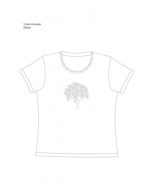 """Oliviers"" t-shirt pattern"