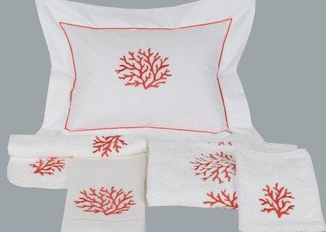 """Coral"" bed set"