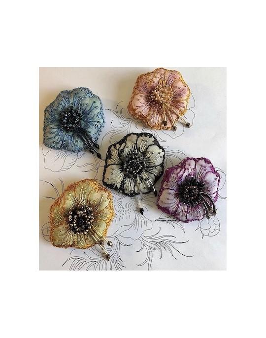 Anemone brooch