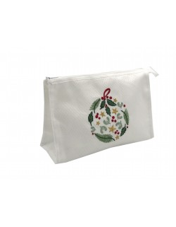 """Christmas ball"" make-up pouch"