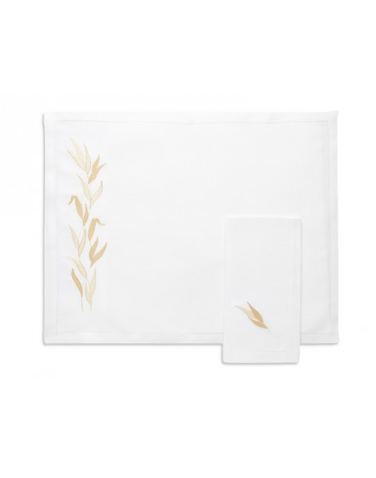 """Savane"" placemat and napkin"