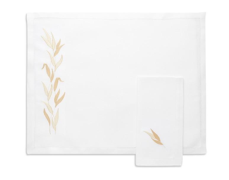 """Savane"" placemat and napkin"