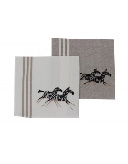 """Zèbres"" (zebra) dish cloth"