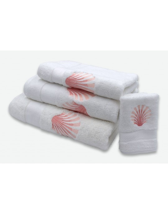 """Ocean"" bath towels"