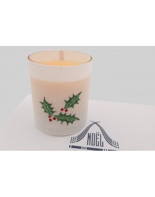 """Houx"" scented candle"