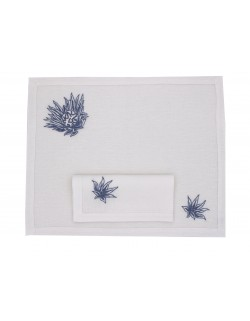 """Crystal Palace"" placemat and napkin"