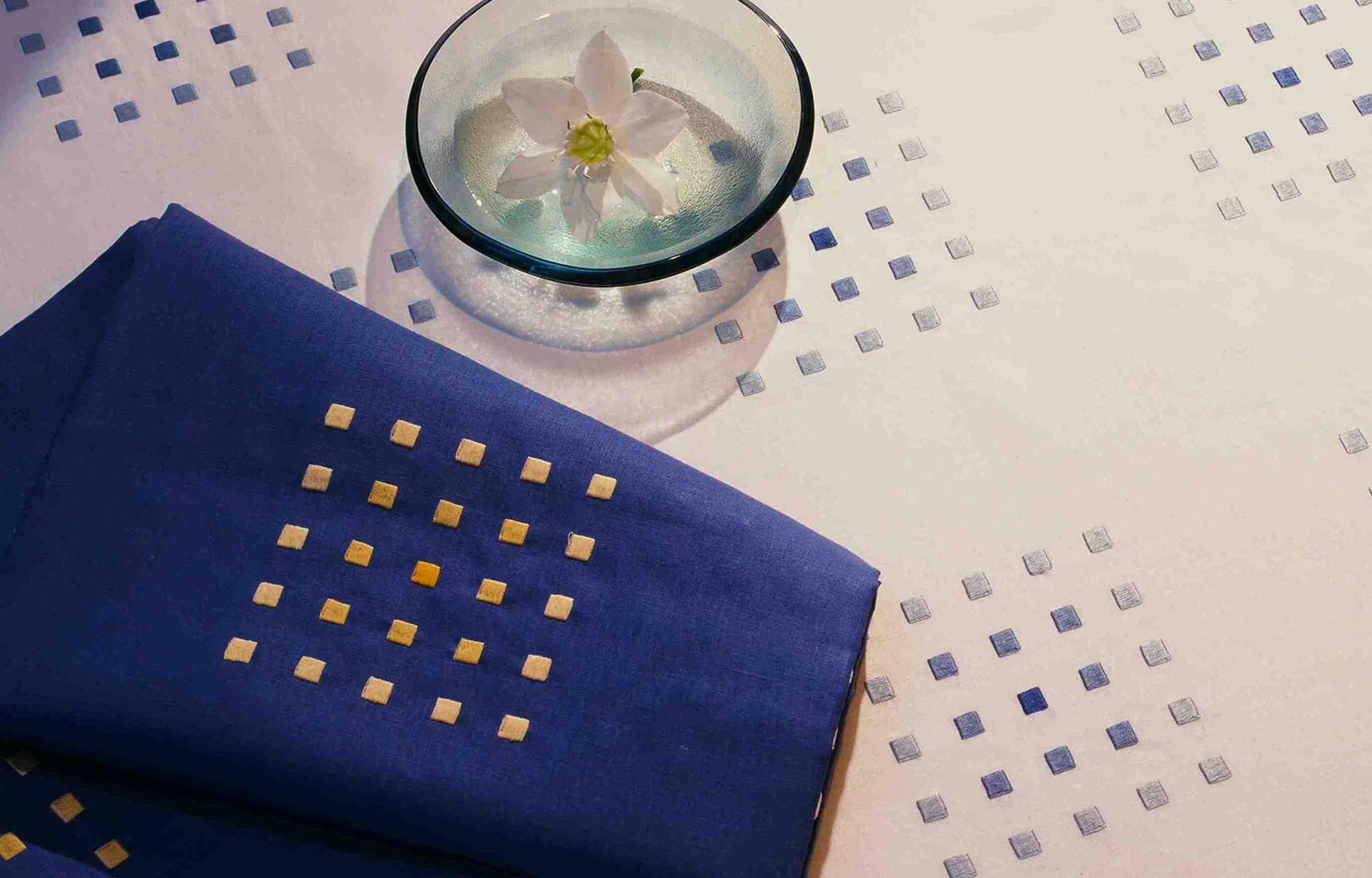 """""""Carrés magiques""""  tablecloth"""