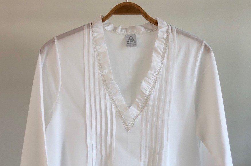"""Villandry""  nightgown (long sleeves)"