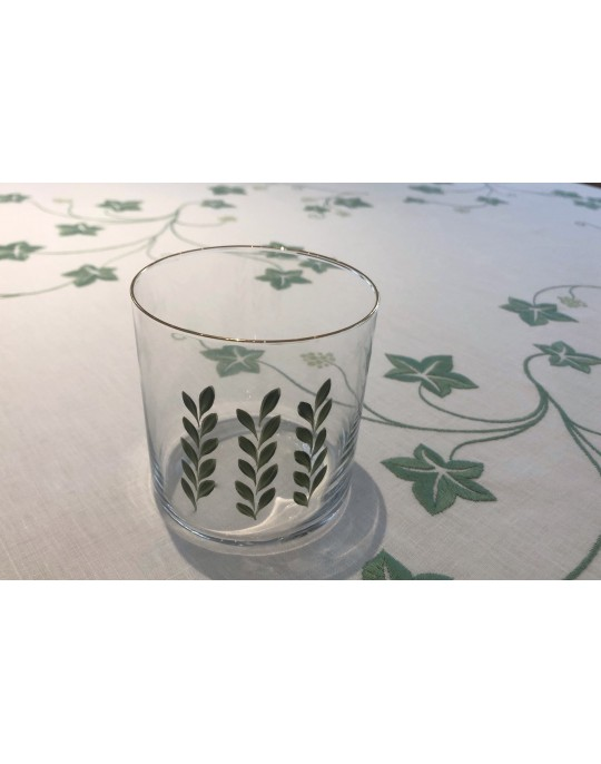 """Primavera"" hand painted glass"