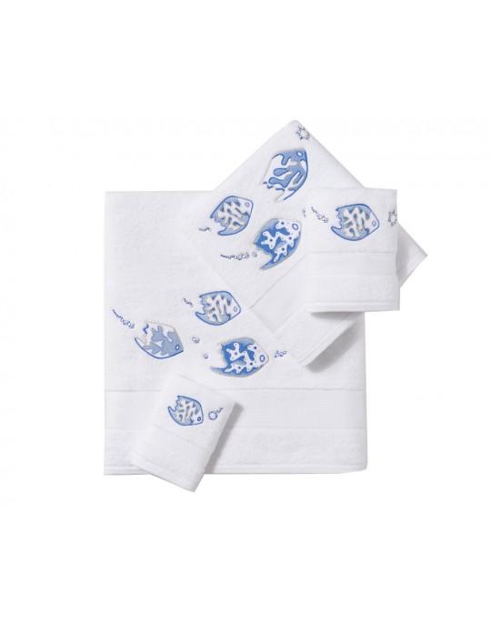 """Légende Marine"" bath towels"
