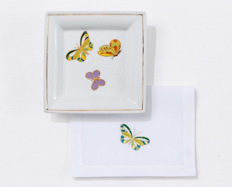 """Jardin Imaginaire"" pin tray"