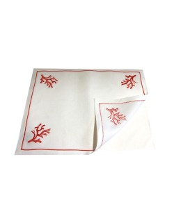 Under placemat - machine or hand embroidered placemat