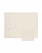 """""""Madame Butterfly"""" placemat and napkin"""
