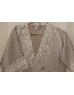 """Caprice"" long nightgown - silk"
