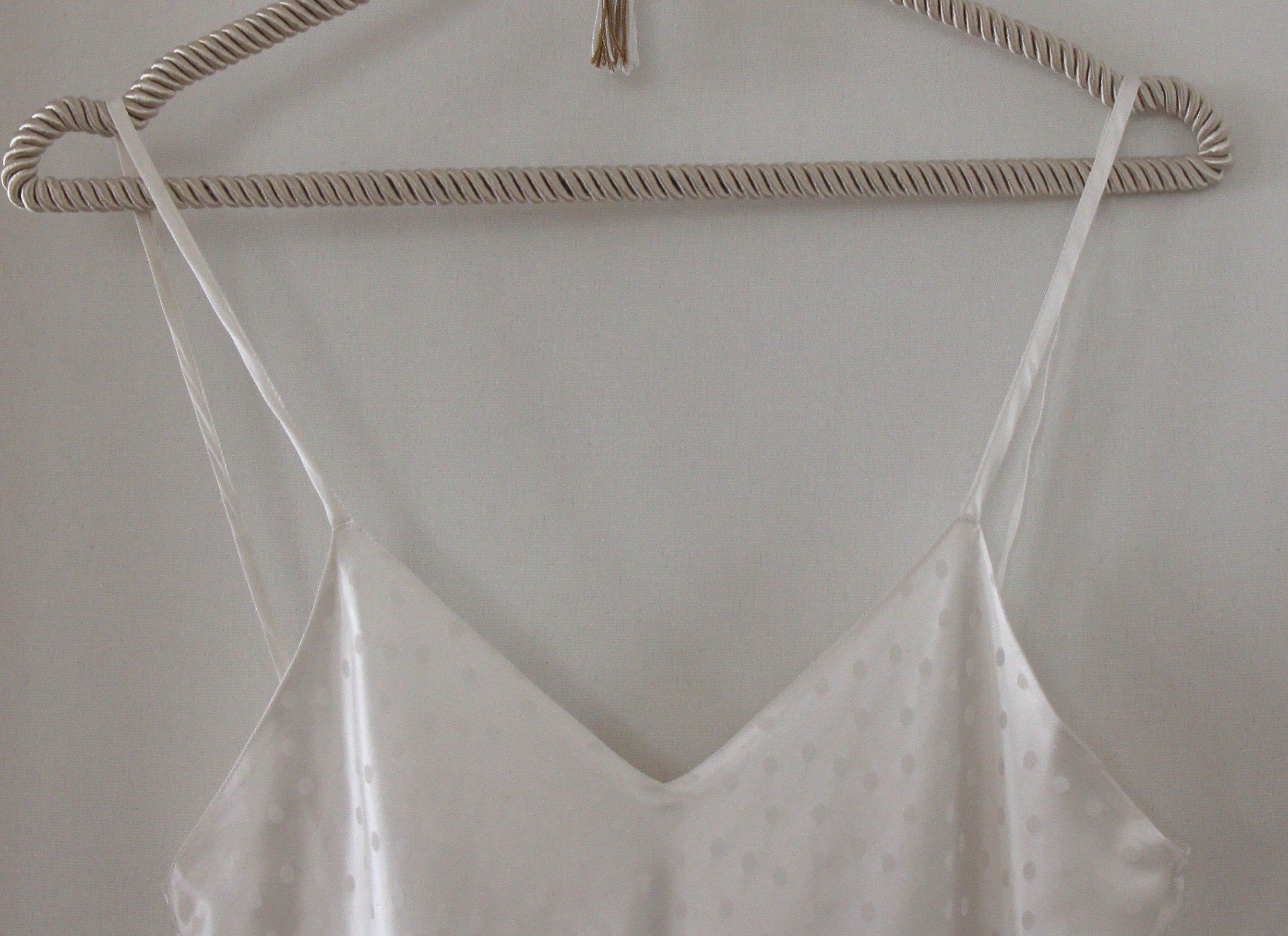 """""""Perle"""" long nightgown (with suspenders)"""