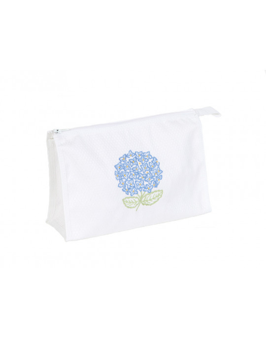 Trousse make-up Hortensia Bleu