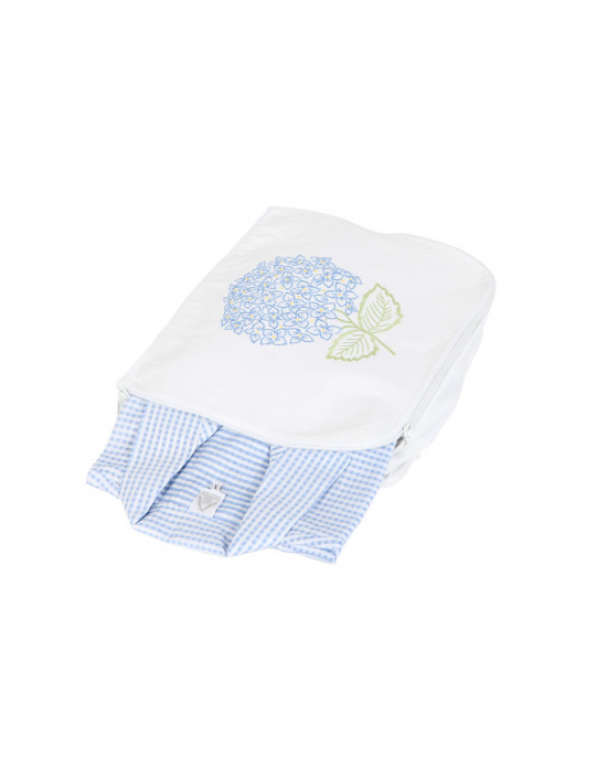 """Hortensia Bleu """"shirt"""" pouch"""