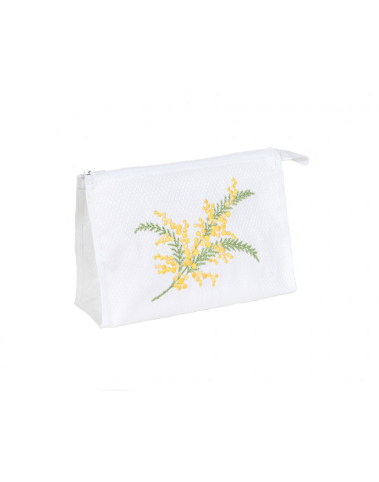 "Mimosa ""make-up"" pouch"
