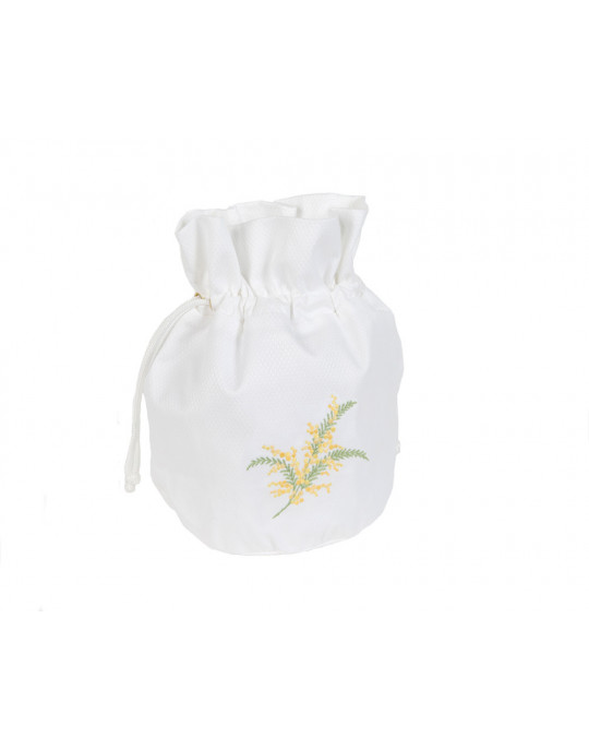 "Mimosa ""drawstring"" pouch"