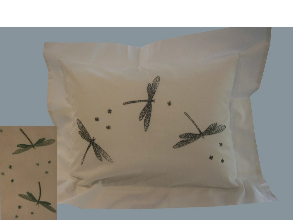 """Libellules"" pillow case pattern"