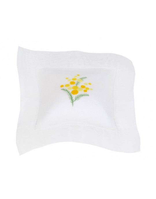 """Mimosa"" scented cushion"