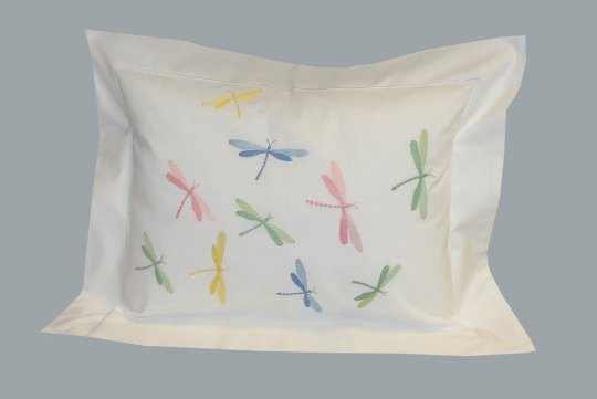 """Libellules"" pillow case (40% off)"