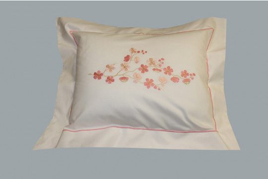 """Fleur de pommier""  pillow case (40% off)"